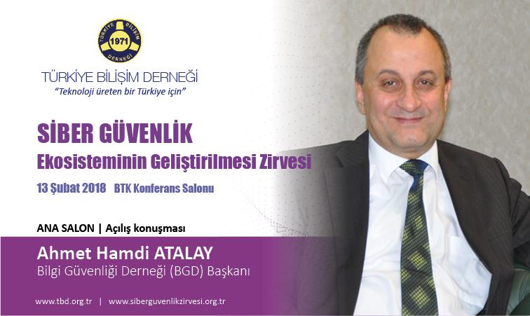 5-Siber G-venlik Zirvesi-Ahmet Hamdi ATALAY_Banner