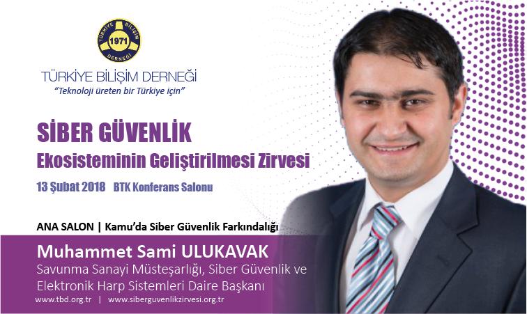 Siber G-venlik Zirvesi-Muhammet Sami ULUKAVAK_Banner