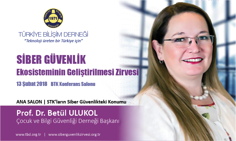 Siber G-venlik Zirvesi-Prof. Dr. Bet-l ULUKOL_Banner