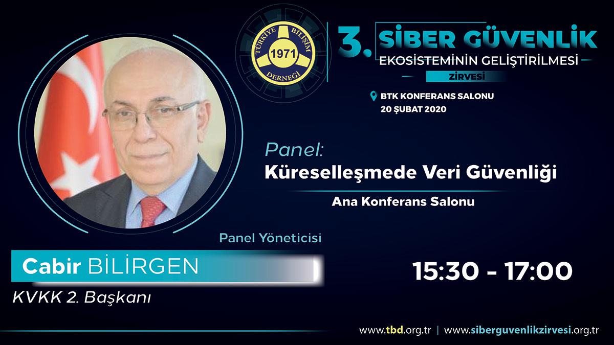 Cabir BİLİRGEN - 3. Siber Güvenlik Zirvesi