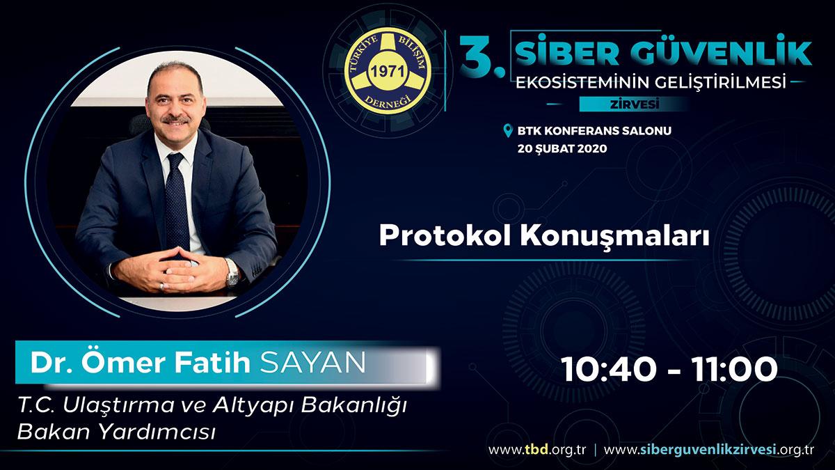 Dr. Ömer Fatih SAYAN - 3. Siber Güvenlik Zirvesi