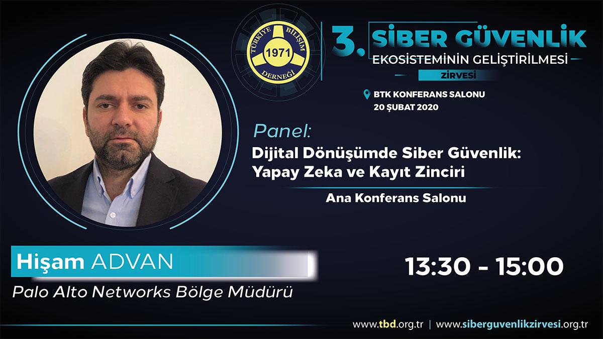 Hişam ADVAN - 3. Siber Güvenlik Zirvesi