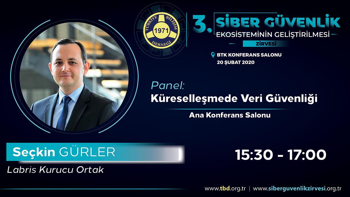 Seçkin GÜRLER - 3. Siber Güvenlik Zirvesi