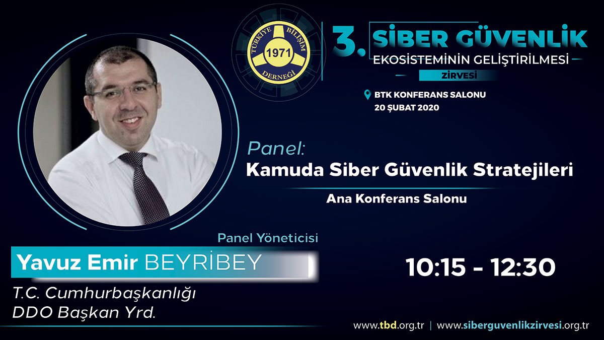 Yavuz Emir BEYRİBEY - 3. Siber Güvenlik Zirvesi