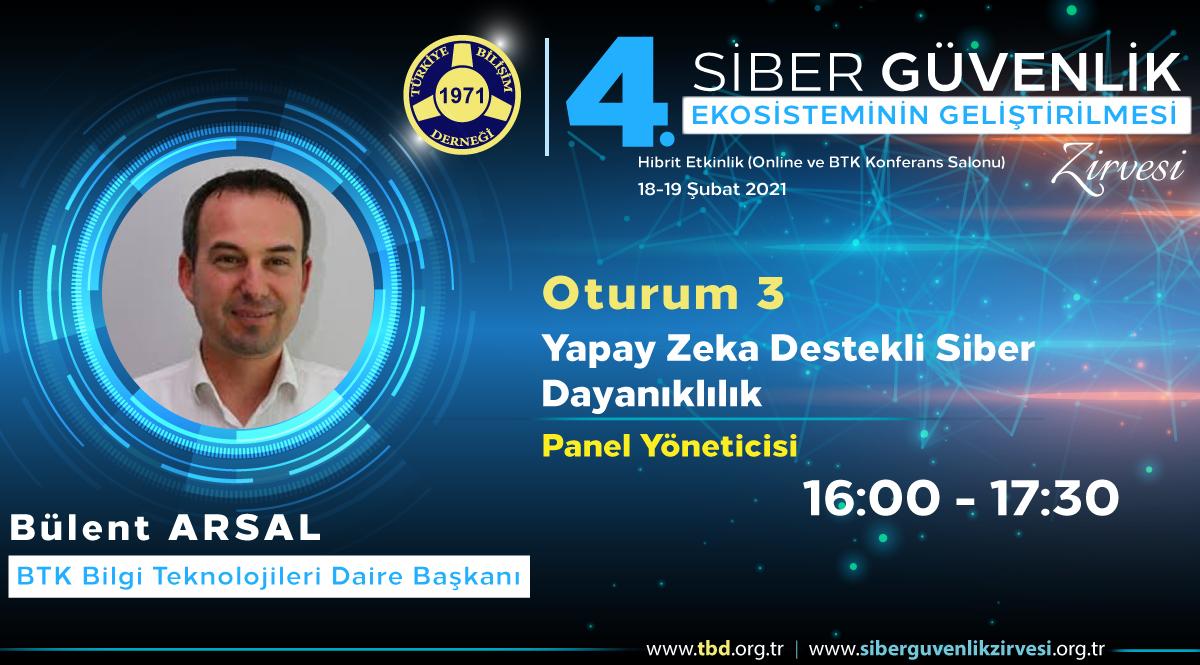 Bülent ARSAL - 4. Siber Güvenlik Zirvesi