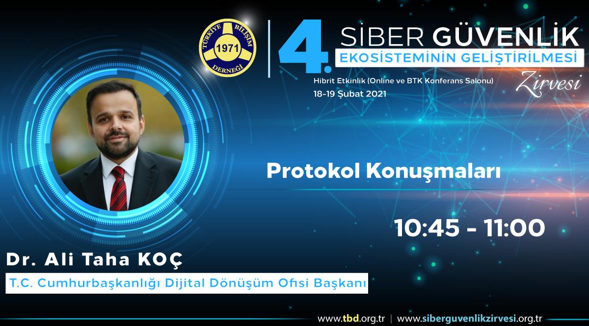 Dr. Ali Taha KOÇ - 4. Siber Güvenlik Zirvesi