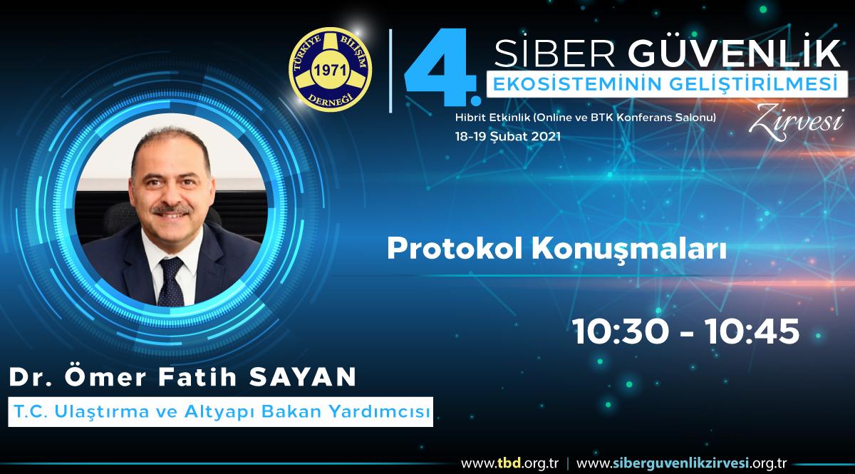 Dr. Ömer Fatih SAYAN - 4. Siber Güvenlik Zirvesi