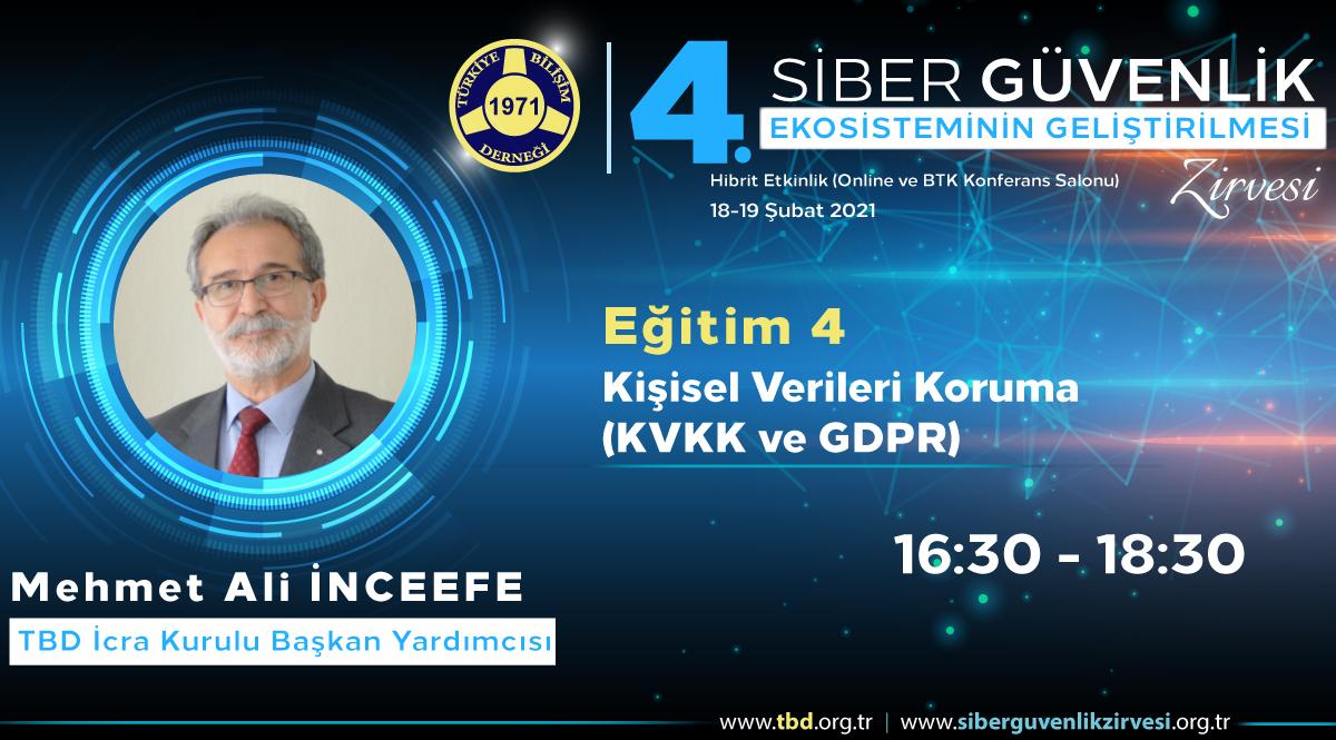Mehmet Ali İNCEEFE - 4. Siber Güvenlik Zirvesi