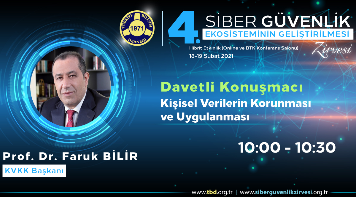 Prof. Dr. Faruk BİLİR - 4. Siber Güvenlik Zirvesi
