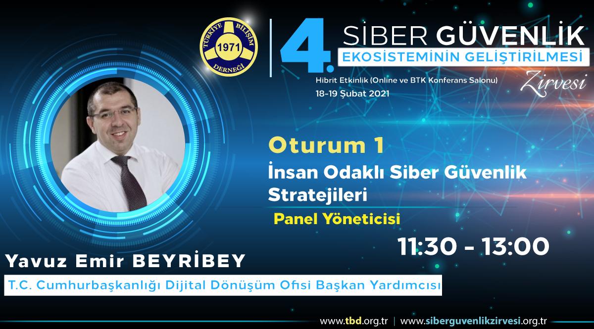 Yavuz Emir BEYRİBEY - 4. Siber Güvenlik Zirvesi