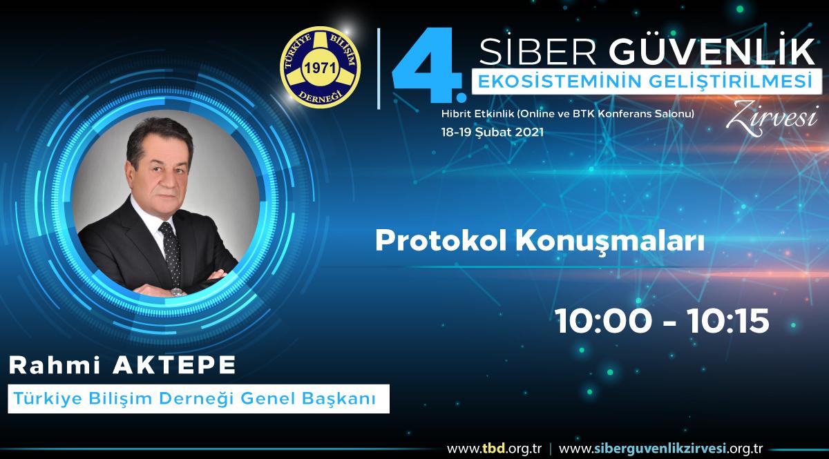 Rahmi AKTEPE - 4. Siber Güvenlik Zirvesi