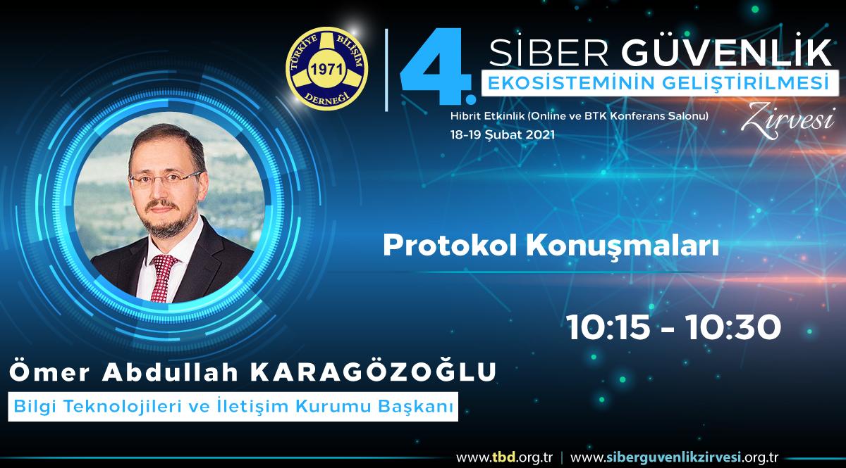 Ömer Abdullah KARAGÖZOĞLU - 4. Siber Güvenlik Zirvesi