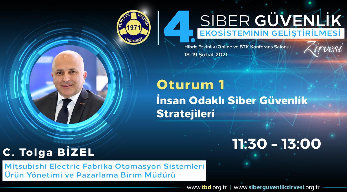C. Tolga BİZEL- 4. Siber Güvenlik Zirvesi