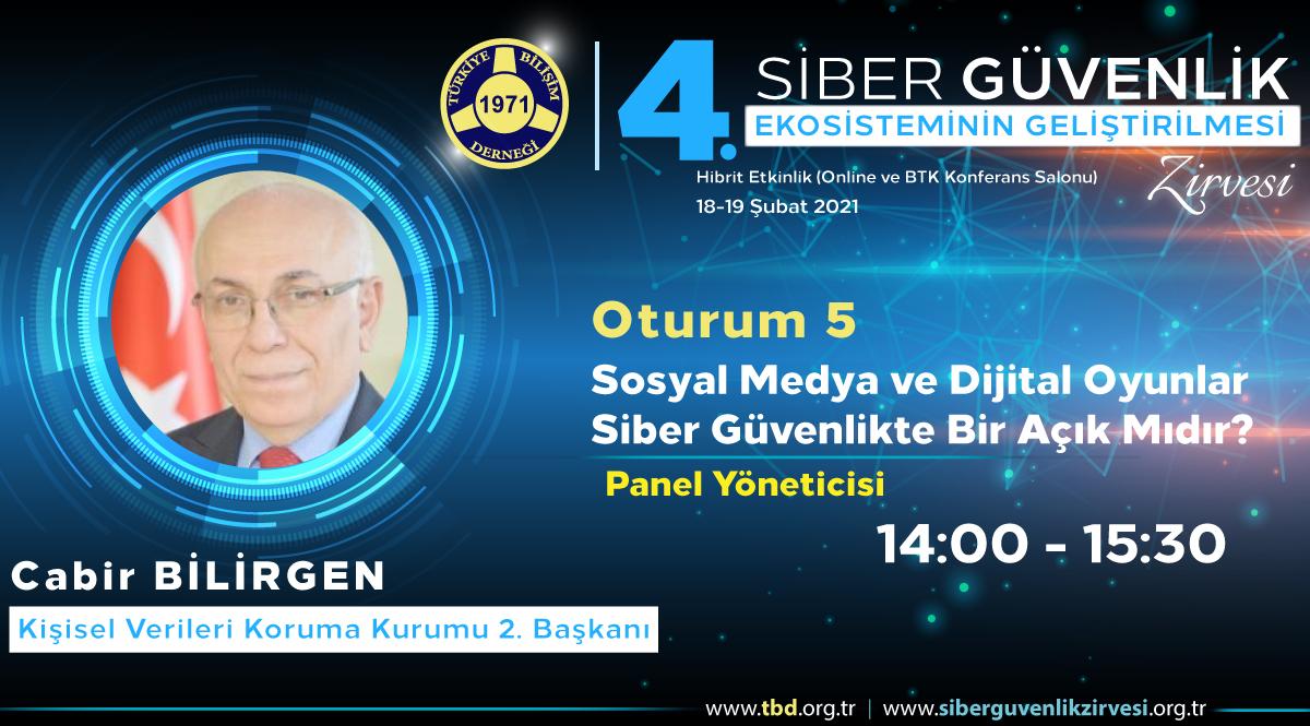 Cabir BİLİRGEN - 4. Siber Güvenlik Zirvesi