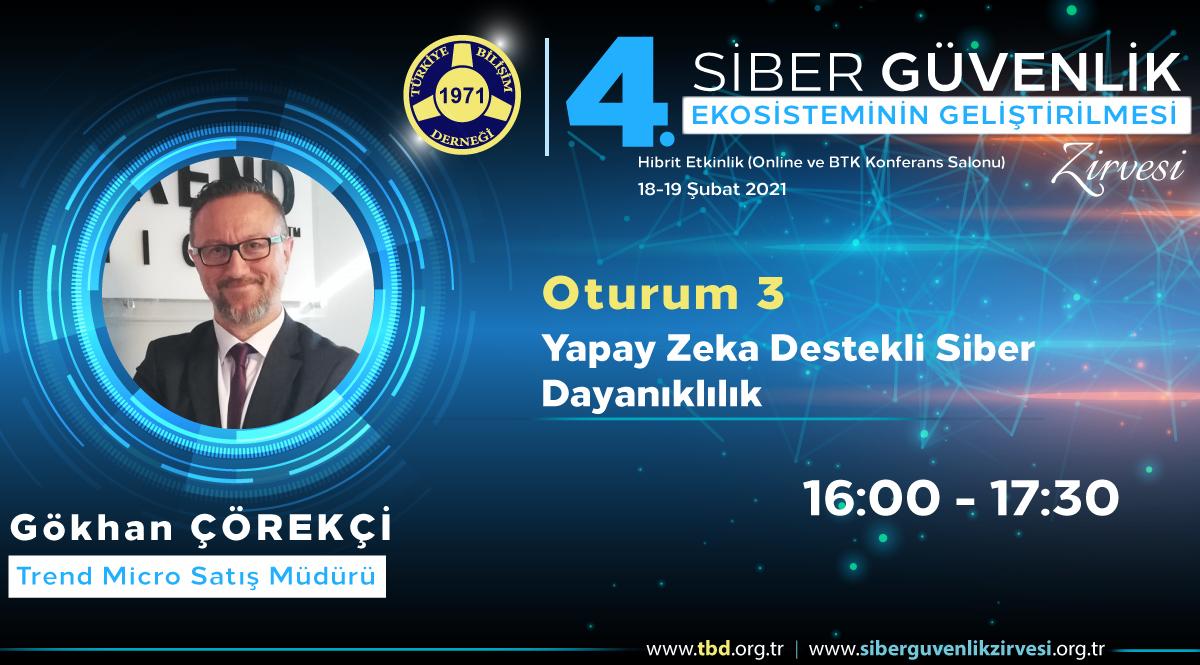 Gökhan ÇÖREKÇİ - 4. Siber Güvenlik Zirvesi