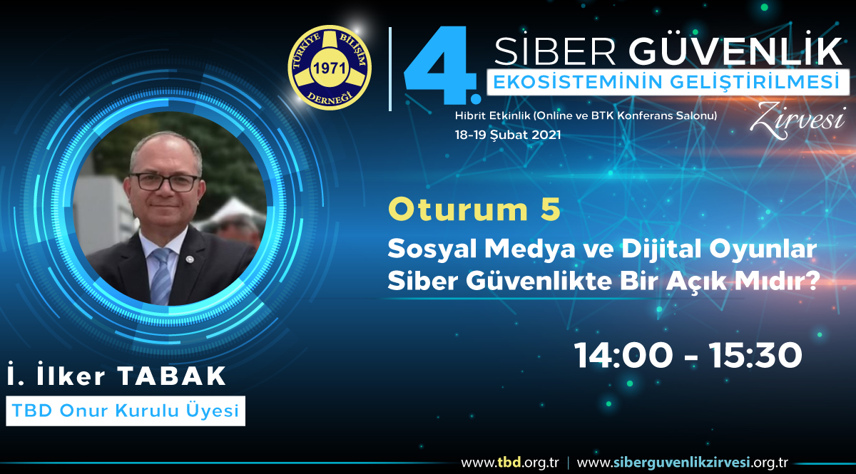 İ. İlker TABAK- 4. Siber Güvenlik Zirvesi