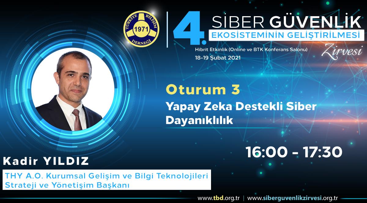 Kadir YILDIZ - 4. Siber Güvenlik Zirvesi