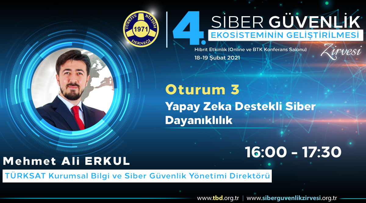 Mehmet Ali ERKUL - 4. Siber Güvenlik Zirvesi