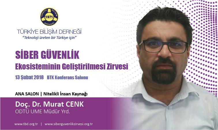 Siber G-venlik Zirvesi-Doc. Dr. Murat CENK_Banner