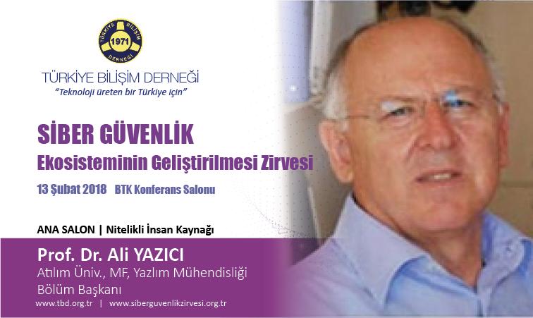 Siber G-venlik Zirvesi-Prof. Dr. Ali YAZICI_Banner