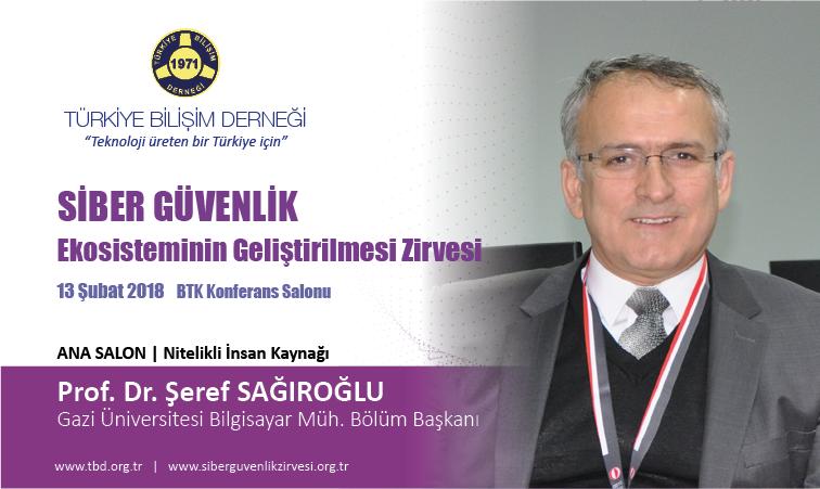 Siber G-venlik Zirvesi-Prof. Dr. Seref SAGIRO-LU_Banner